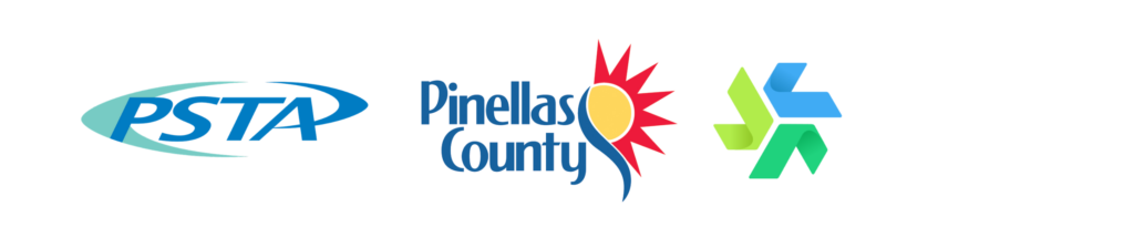 PSTA, Pinellas County and Forward Pinellas Logos